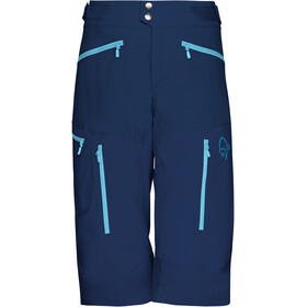 Norrøna W's Fjørå Flex1 Shorts Indigo Night